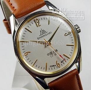 whole fashion watches shang hai brand watches nostalgic retro whole fashion watches shang hai brand watches nostalgic retro men s mechanical watch designer watch discount watch from qingfeng1668 90 46 dhgate com