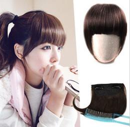 Wholesale 1pcs Fashion Bold amp Blunt Hair Fringe Hair bang human hair Made colors available Hot sale