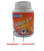 Wholesale Gum Container Style Motion Detecting HD Spy Camera
