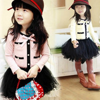 Wholesale Girls Dresses One Piece Princess Dress Fashion Design Cotton Spring Autumn