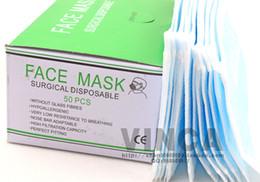 Wholesale Disposable mask medical masks non woven mask pieces box