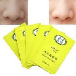 Wholesale 150pcs Blackhead nose paste Chinese Herbal Nose Membranes Conk Mask Cosmetology Nasal Membrane