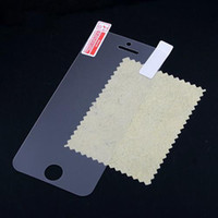 For Apple iPhone Front  Wholesale - Screen Protector front cover film for iPhone 5 5S without retail package