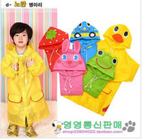 Wholesale New Animal Linda Children s baby Raincoat Kids boys girs Rain Coat rainwear