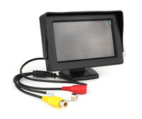 Wholesale 4 quot TFT LCD Car Rear View Monitor Color Screen Reverse Backup Camera DVD VCD Q3030A