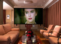 Wholesale Electric projection screen Motorized projector screen remote control