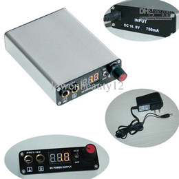 Wholesale Mini Rechargeable Wireless Tattoo Power Supply With Stainless Footpedal