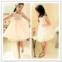 Girls Summer Clothing Dresses Lace Dress Veil Dresses Children's Clothing