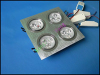 Wholesale LED ceiling downlight W LED grille lamp grid lamp LED ceiling down lamp AC85 V