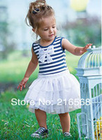 Wholesale children s skirt tutu baby girl dress kids wear kids clothing with bow Children apparel fr