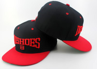Wholesale black red DC Snapback Hat hats Visor Cap caps Hip hop hat Sports hat