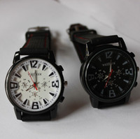 Wholesale 2014 new Men watch Military Pilot Aviator Army Style Silicone Quartz watches Outdoor Sport Wrist Watch for Christmas gift DHL free best2011