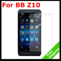 For Blackberry bb lcd screen - Clear LCD Screen Protector Film Guard Skin Cover Shield for Balckberry Z10 BB No Retail Package