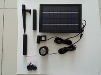 Wholesale Solar Power Floating Brushless garden Fountain mini water Pump Kit Led light