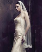 Tulle best edge trimmer - Best Sale Layer Bridal Lace Trim Veils Mantilla Wedding Veils Bridal Veils For Wedding Dresses