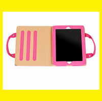 Wholesale The multifunction tablet PC protective sleeve fashion bracket handbag for i pad2