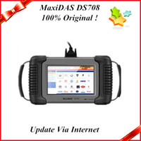 Wholesale 2013 top sale auto diagnostic tool100 original maxidas ds708 update via internet with lowest price