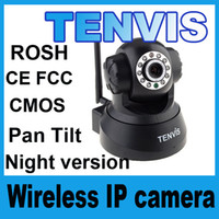 Indoor Pan/Tilt CMOS CCTV 3815W Tenvis Surveillance Ip cameras UPDATE VERSION Wireless IR Network Security ip Camera Night Vision