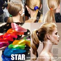 achat en gros de cheveux cercle des bandes de caoutchouc corde-Perruque colorée perruque de cheveux de cercles