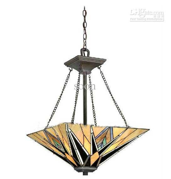 Tiffany style pendant light fixtures hot girls wallpaper for Gros luminaire suspendu