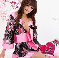 Wholesale Sexy Lingerie Kimono Dress Dress One Size Sleepwear Underwear Uniform Temptation