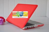 Wholesale Frosted Crystal Hard Shell Cover Case For quot MacBook Air series as MC968 MC969 MC505 MC506 colors