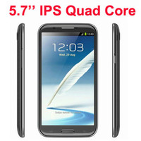Wholesale Star N9589 MTK6589 Cortex A9 Quad Core GHz quot Android4 Smart phone G WIFI GPS Cellphone