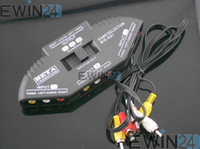 Wholesale 1 M Way Audio Video AV RCA Switcher Switch Splitter Cable New High quality