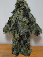 Hunting hunting clothes - Supply Camouflage Ghillie Suit the Jungle Camouflage Uniforms Of Wool Yarn The Hunting Clothes HONGT HW0202