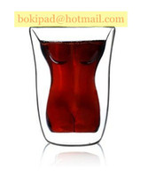 other Glass  1PCS LOT Freeshipping WIth Retailbox VIME Perfect Naked Female Woman Human Body vodka Wine Glass Cup