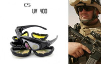 Wholesale Daisy C5 Desert Storm Sun Glasses Goggles Tactical Protective Riding Glasses