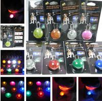Wholesale Pet dog LED led flash safety night light clip on safety pendant lights dogs Blinker Collar equipment
