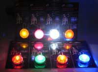 LED clip on charms - 2013 Pet dog LED led flash safety night light clip on safety pendant lights Blinker Collar equipment