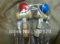 Wholesale length cm Funny Japanese Traditional Wood Game Toy Kendama Ball gift kendama color