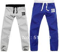 Wholesale unisex eminem casual thick casual pants sports sweatpants with elastic belt