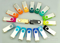 Wholesale Promotion GB popular USB Flash Drive rotational style memory stick with DHL Fedex