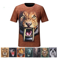 Wholesale 2013 New d shirt short sleeve quick drying round neck tshirt D digital printing t shirt hot
