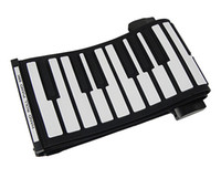 keyboard piano - Hot Sale Keys USB Piano Rubberized Portable Flexible Roll Up Roll up Electronic Piano Keyboard D2234A