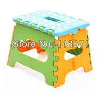 Wholesale Plastic folding stool portable folding stool fishing stool plastic