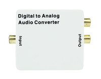Wholesale Digital To Analog Audio Converter Adapter Coaxial SPDIF Toslink Signal To RCA L R D2254B