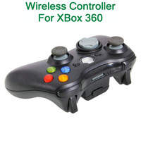For XBox 360 Wireless Controller Shock Wireless Controller For XBox 360 Black Gray Brand New Game Controller Free Shipping 84003615