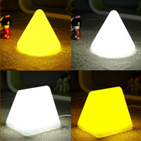 Pyramid best pyramids - LED Bed light night light Pyramid baby light desk lamp reading lamp best as gifts dropshi