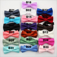 Wholesale Tuxedo PreTied Black Bow Tie Satin Adjustable Brand