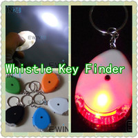 Flash LED Whistle Key Finder Seeker Locator Find Lost Key Ch...