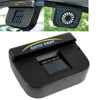 Wholesale Solar Powerd Auto Cool Air Vent Fan for Vehicles Cars Trucks Bus