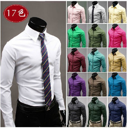 Wholesale Mens Slim fit Unique neckline stylish Dress long Sleeve Shirts Mens dress shirts co