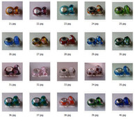 Wholesale 200pcs Sterling Silver Thread Hole Murano Glass Beads Fit Chamilia Pandora Style Charms Brac