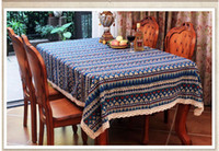 Wholesale Table cover European pastoral cloth Fashion rustic table cloth dining chair cover quality