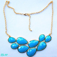 Pendant Necklaces beautiful bibs - Jcrew Retro Vintage Beautiful Peacock Necklace With Jewels Pendant Bubble Bib Statement Party Jewellery Necklace drop shipping