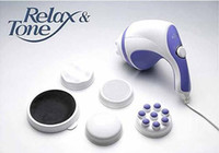 Cheap New Relax Spin&Tone Body Massager Fat Remove Relax Slim Machine Set EU Plug